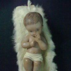 Figuras de Belén: NIÑO JESUS ESCAYOLA YESO. Lote 68241681