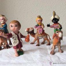 Figuras de Belén: FIGURAS DE BELÉN EN PLÁSTICO ,IDEALES COLECCIONISTAS. Lote 68944089