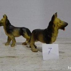 Figuras de Belén: FIGURAS PARA BELÉN, PESEBRE, NACIMIENTO (PERROS). Lote 69109941