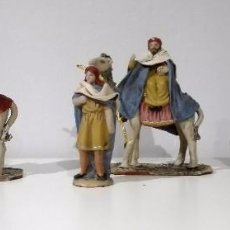 Figuras de Belén: FIGURAS DE CABALGATA DE REYES PARA BELÉN PESEBRE NACIMIENTO. Lote 69793393