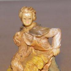 Figuras de Belén: FIGURA DE BELEN,35/6 MADE IN ITALY,AÑOS 60. Lote 74233479