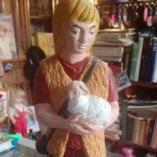 Figuras de Belén: FIGURA PASTORCILLO BELEN GRAN TAMAÑO. Lote 74308359