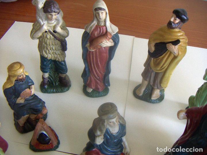 Figuras de Belén: 20 figuras de Belén de ceramica o porcelana - Foto 2 - 84535680