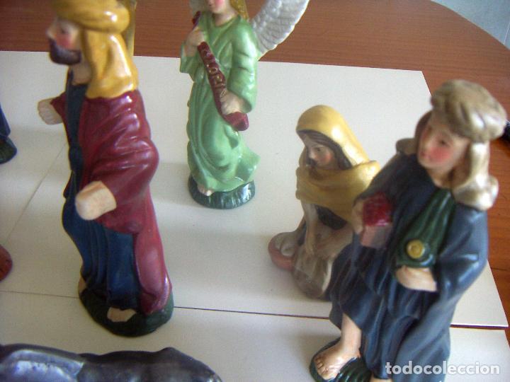 Figuras de Belén: 20 figuras de Belén de ceramica o porcelana - Foto 7 - 84535680