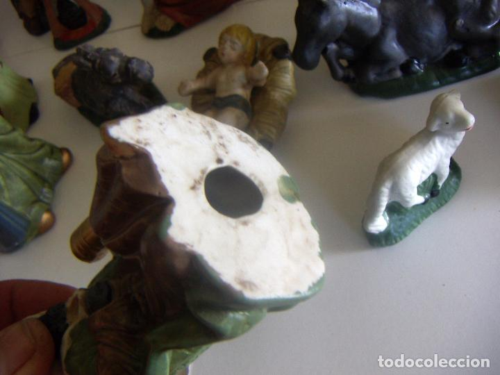 Figuras de Belén: 20 figuras de Belén de ceramica o porcelana - Foto 9 - 84535680
