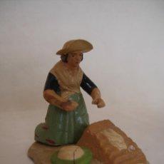 Figuras de Belén: ANTIGUA FIGURITA DE BELEN. Lote 85015264
