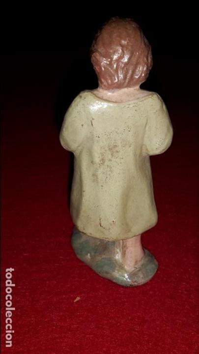 Figuras de Belén: figura de belén, pastorcillo, arcilla pintada, Vila, Albacete - Foto 2 - 87177596