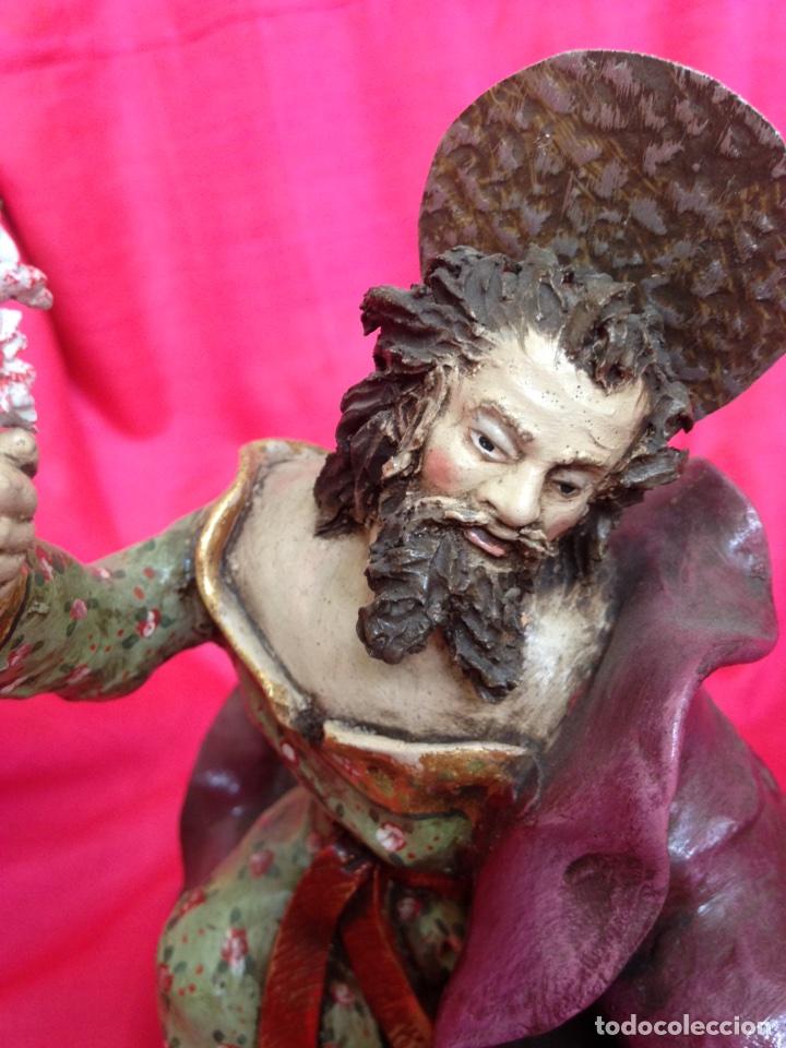 Figuras de Belén: Belen tipo napolitano de barro ( nuevo ) - Foto 10 - 90091928