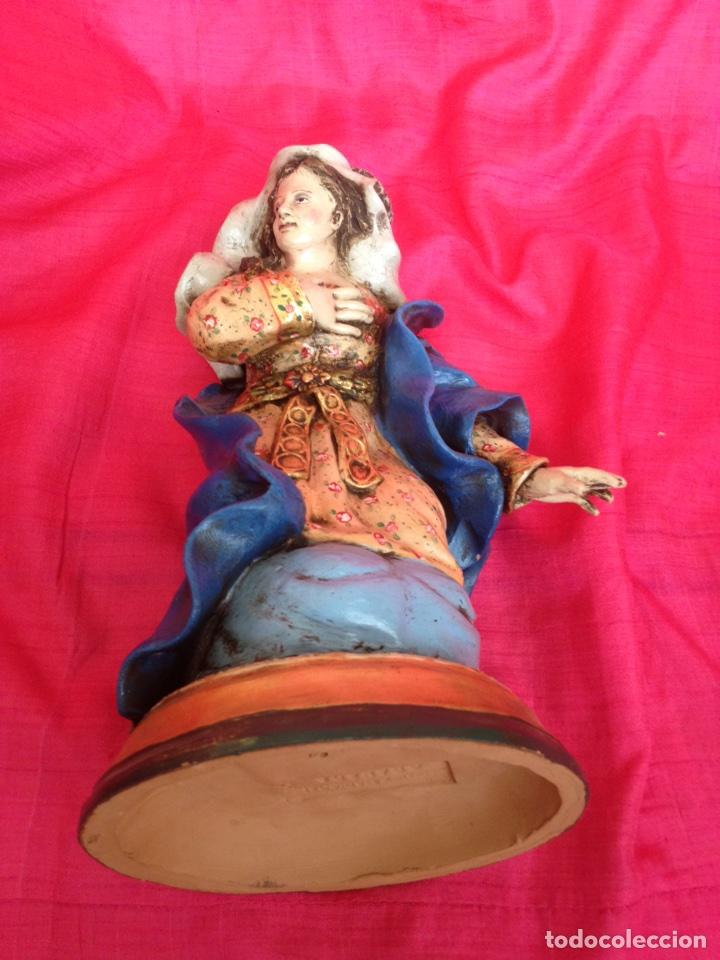 Figuras de Belén: Belen tipo napolitano de barro ( nuevo ) - Foto 13 - 90091928