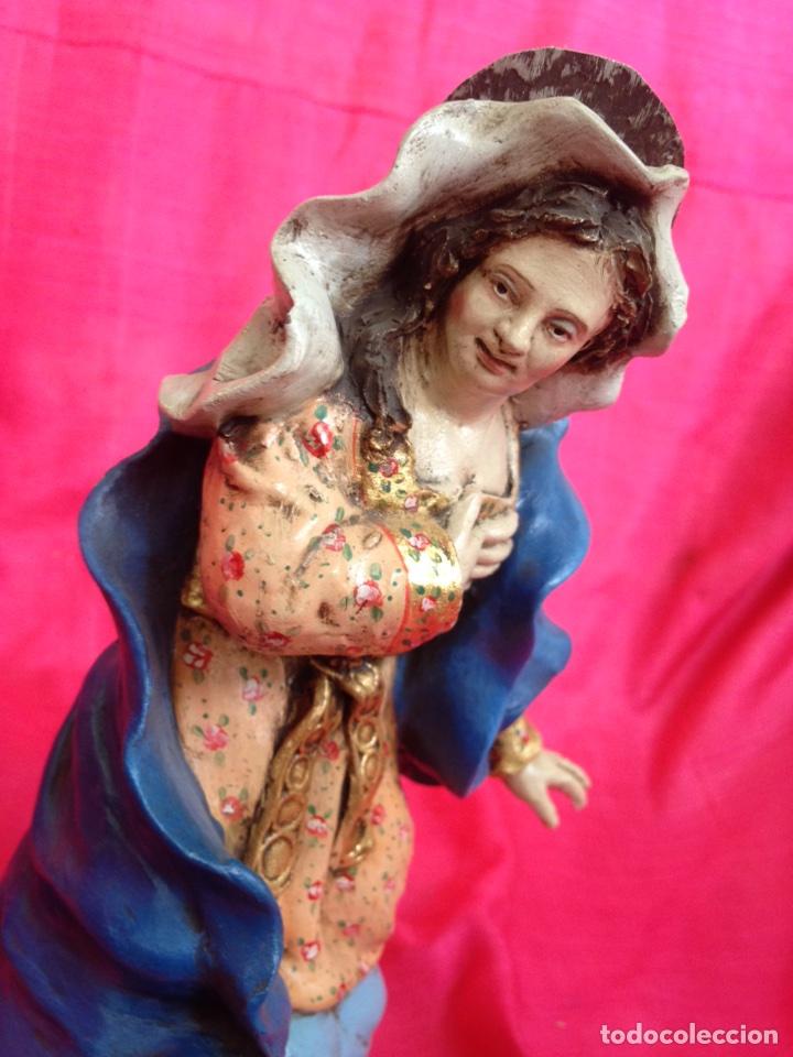 Figuras de Belén: Belen tipo napolitano de barro ( nuevo ) - Foto 14 - 90091928