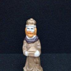 Figuras de Belén: ANTIGUA FIGURA BELÉN. REY MAGO GASPAR DE PORCELANA CERÁMICA. Lote 95073931