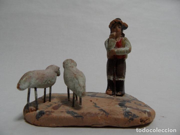 PASTOR. BELÉN/PESEBRE/NACIMIENTO. (Coleccionismo - Figuras de Belén)