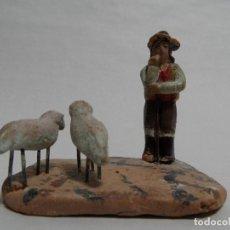 Figuras de Belén: PASTOR. BELÉN/PESEBRE/NACIMIENTO.. Lote 96459719