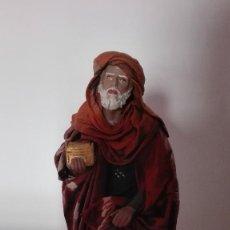 Figuras de Belén: FIGURA DE REY MELCHOR ADORANDO PARA BELÉN PESEBRE NACIMIENTO. Lote 100494563