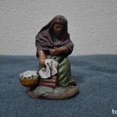 Figuras de Belén: FIGURA DE LAVANDERA PARA BELÉN PESEBRE NACIMIENTO . Lote 100757699