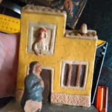 Figuras de Belén: REF-MAR : FIGURAS FIGURA BARRO DE BELEN - ANGEL MARTINEZ COLECCION - TERRACOTA PINTADO A MANO . Lote 102591247