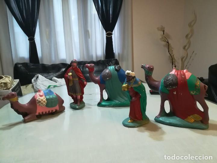 FIGURAS REYES MAGOS (Coleccionismo - Figuras de Belén)