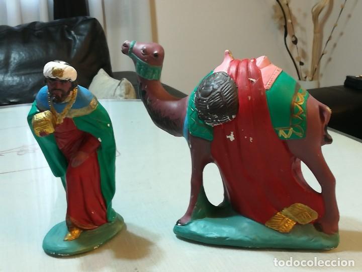 Figuras de Belén: Figuras Reyes Magos - Foto 3 - 102629363
