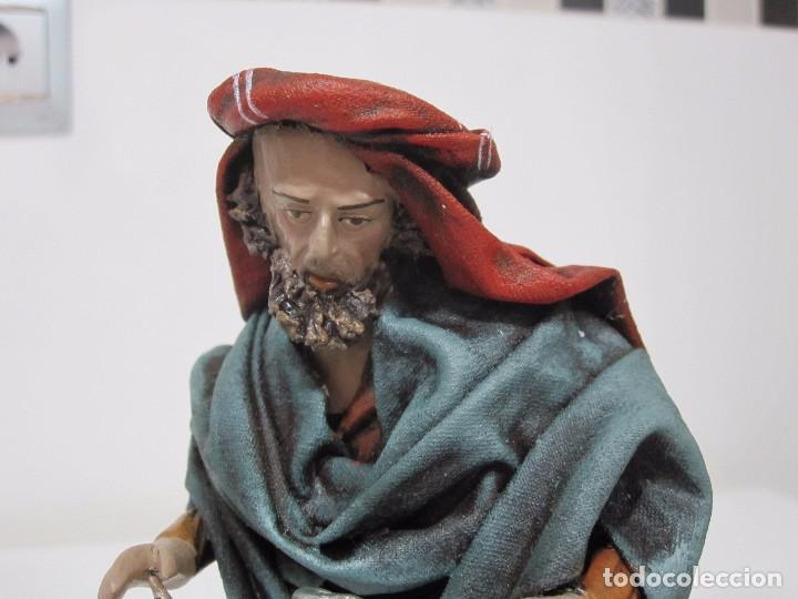 HERRERO CON JUNQUE (Coleccionismo - Figuras de Belén)