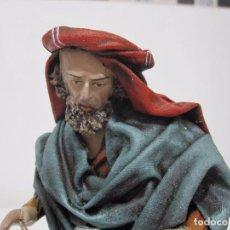 Figuras de Belén: HERRERO CON JUNQUE. Lote 102717363