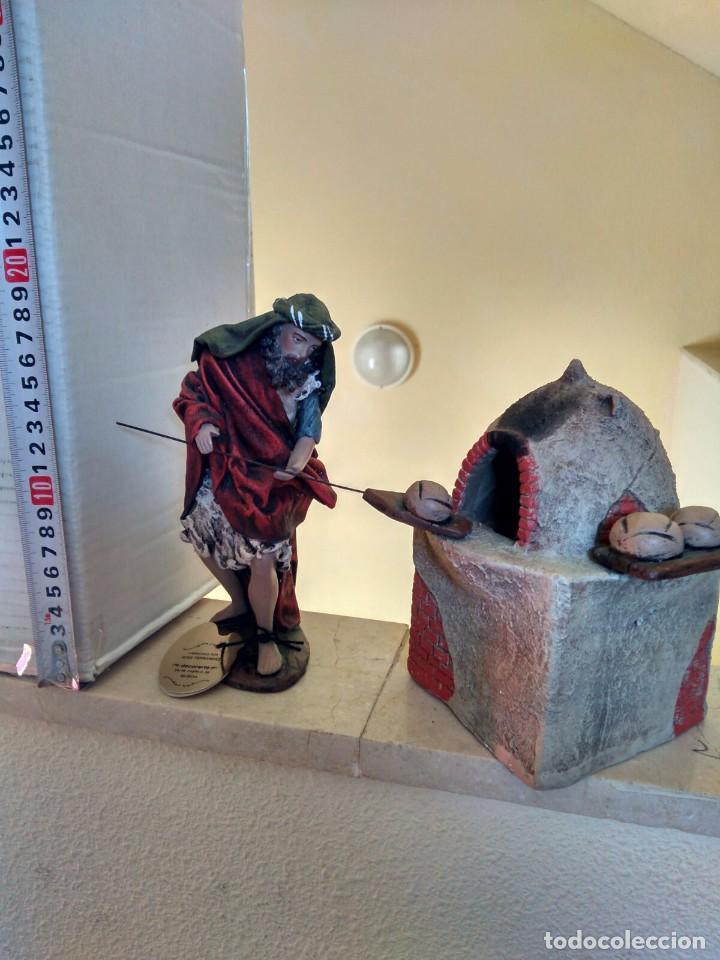 PANADERO CON HORNO DE PAN (Coleccionismo - Figuras de Belén)