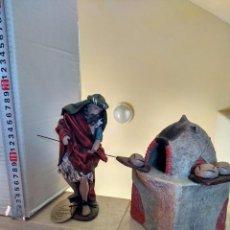 Figuras de Belén: PANADERO CON HORNO DE PAN. Lote 102953919