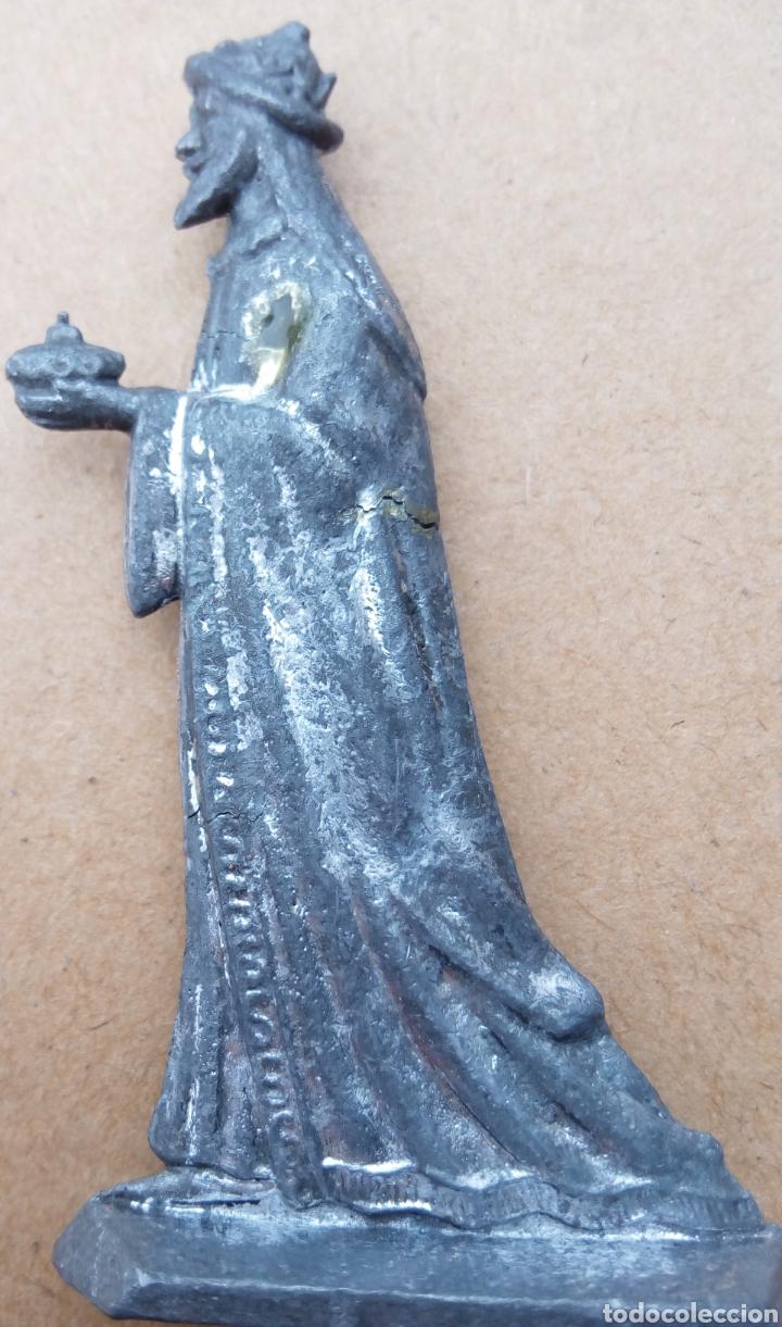 FIGURA BELÉN DE PLOMO (Coleccionismo - Figuras de Belén)