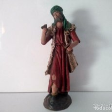 Figuras de Belén: ANTIGUA FIGURA BELÉN MURCIANO FIRMADO ORTIGAS 704 14 MURCIA CASTAÑUELERO . Lote 103945515