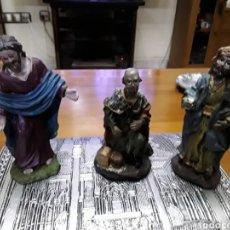 Figuras de Belén: FIGURAS BELÉN REYES MAGOS CERÁMICA GRAN CALIDAD. Lote 104458902