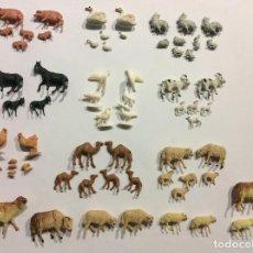 Figuras de Belén: LOTE ANIMALES ORIGINALES AÑOS 70. Lote 104775107