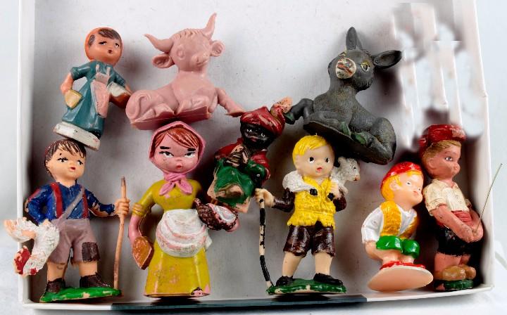 5ea4b0507f4 Grupo 8 figuras pesebre plástico - Sold through Direct Sale - 60115919