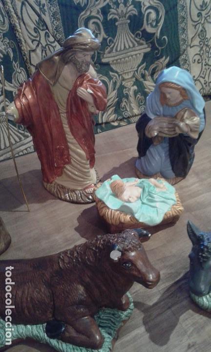 Figuras de Belén: Antiguas figuras grandes de belén - Foto 2 - 105692751