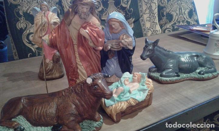 Figuras de Belén: Antiguas figuras grandes de belén - Foto 8 - 105692751