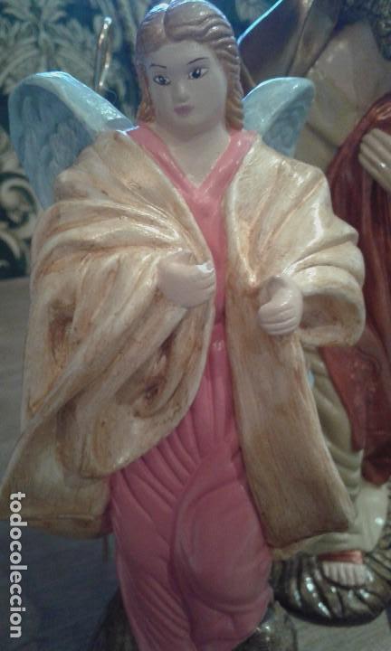 Figuras de Belén: Antiguas figuras grandes de belén - Foto 9 - 105692751