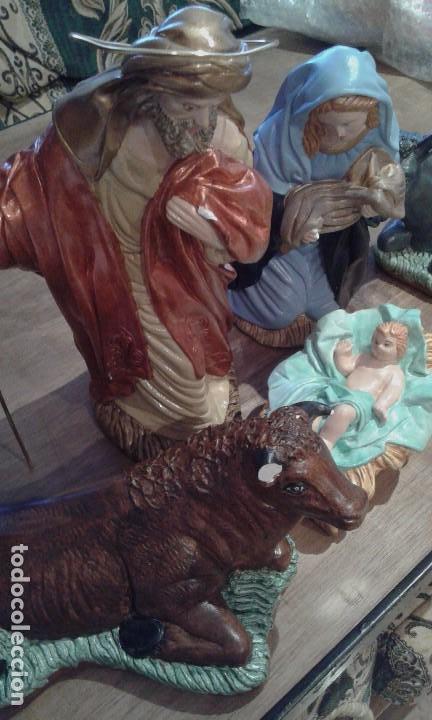 Figuras de Belén: Antiguas figuras grandes de belén - Foto 14 - 105692751