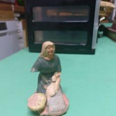 Figuras de Belén: FIGURA TERRACOTA BELÉN. Lote 105799260
