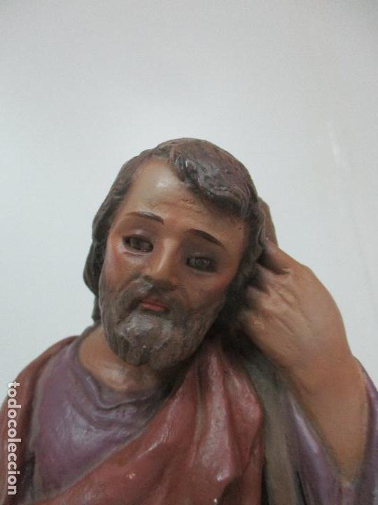 Figuras de Belén: Bonito Pesebre - Belén - Nacimiento Misterio Completo - Estuco Yeso - Talleres de Olot - Foto 5 - 105875267