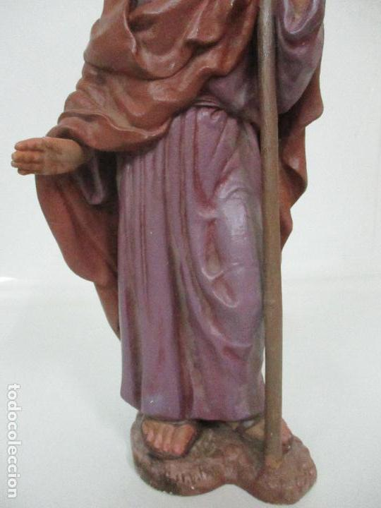 Figuras de Belén: Bonito Pesebre - Belén - Nacimiento Misterio Completo - Estuco Yeso - Talleres de Olot - Foto 6 - 105875267