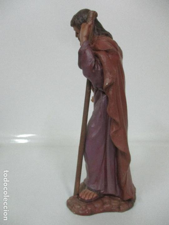 Figuras de Belén: Bonito Pesebre - Belén - Nacimiento Misterio Completo - Estuco Yeso - Talleres de Olot - Foto 7 - 105875267
