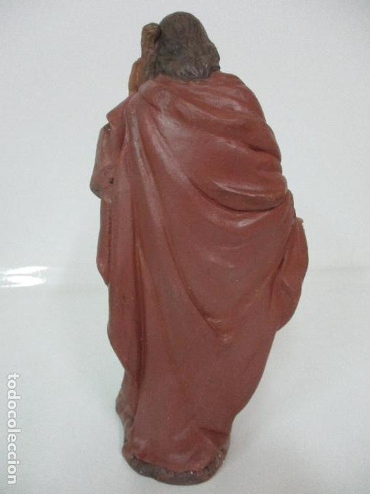Figuras de Belén: Bonito Pesebre - Belén - Nacimiento Misterio Completo - Estuco Yeso - Talleres de Olot - Foto 8 - 105875267