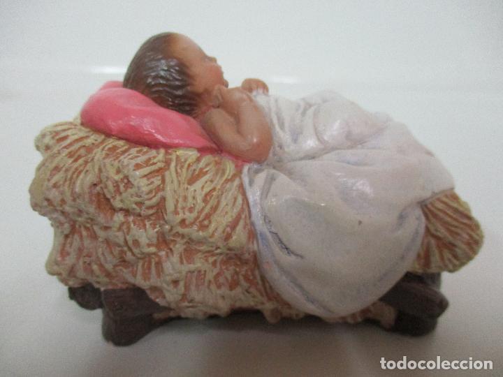 Figuras de Belén: Bonito Pesebre - Belén - Nacimiento Misterio Completo - Estuco Yeso - Talleres de Olot - Foto 20 - 105875267