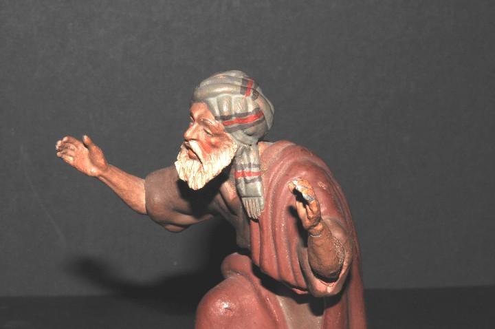 Figuras de Belén: FIGURA DE BELEN O PESSEBRE EN BARRO O TERRACOTA - Foto 2 - 105988207