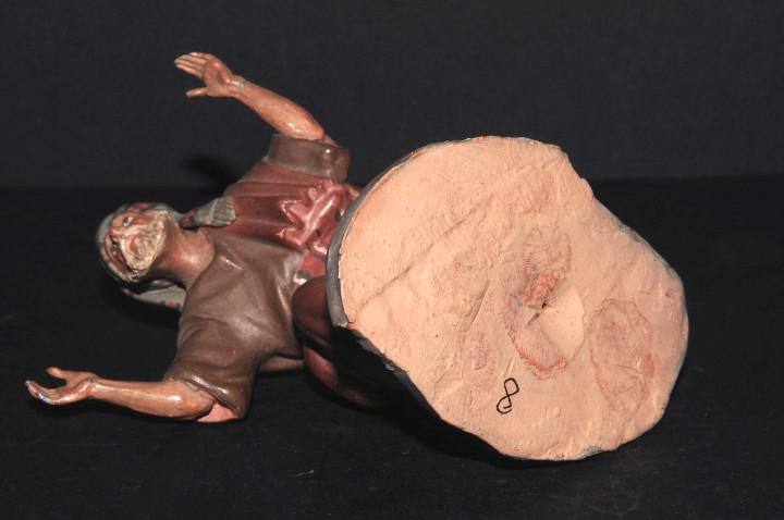 Figuras de Belén: FIGURA DE BELEN O PESSEBRE EN BARRO O TERRACOTA - Foto 5 - 105988207
