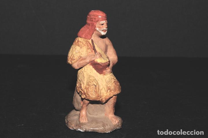 FIGURA DE BELEN O PESSEBRE EN BARRO O TERRACOTA (Coleccionismo - Figuras de Belén)