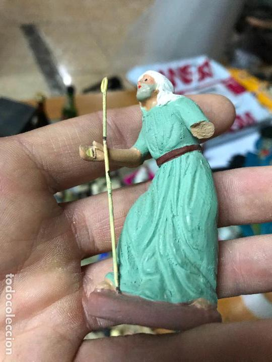 Figuras de Belén: Figura de belen murciano en barro o terracota - Pastor - Foto 2 - 107049291