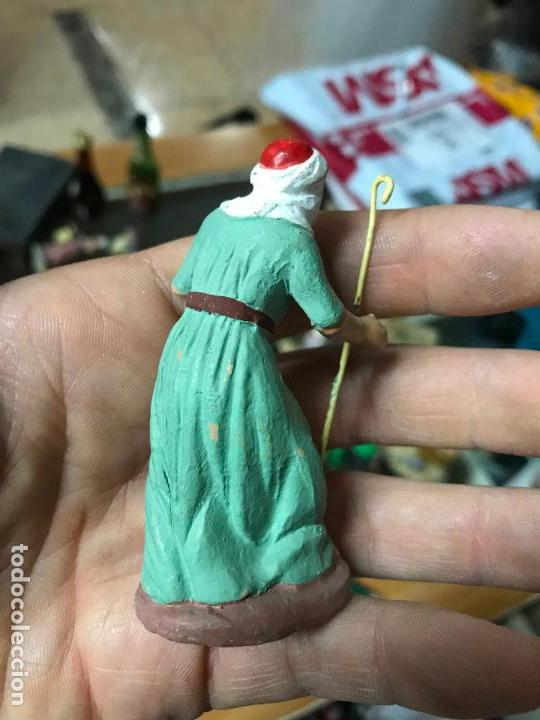 Figuras de Belén: Figura de belen murciano en barro o terracota - Pastor - Foto 3 - 107049291