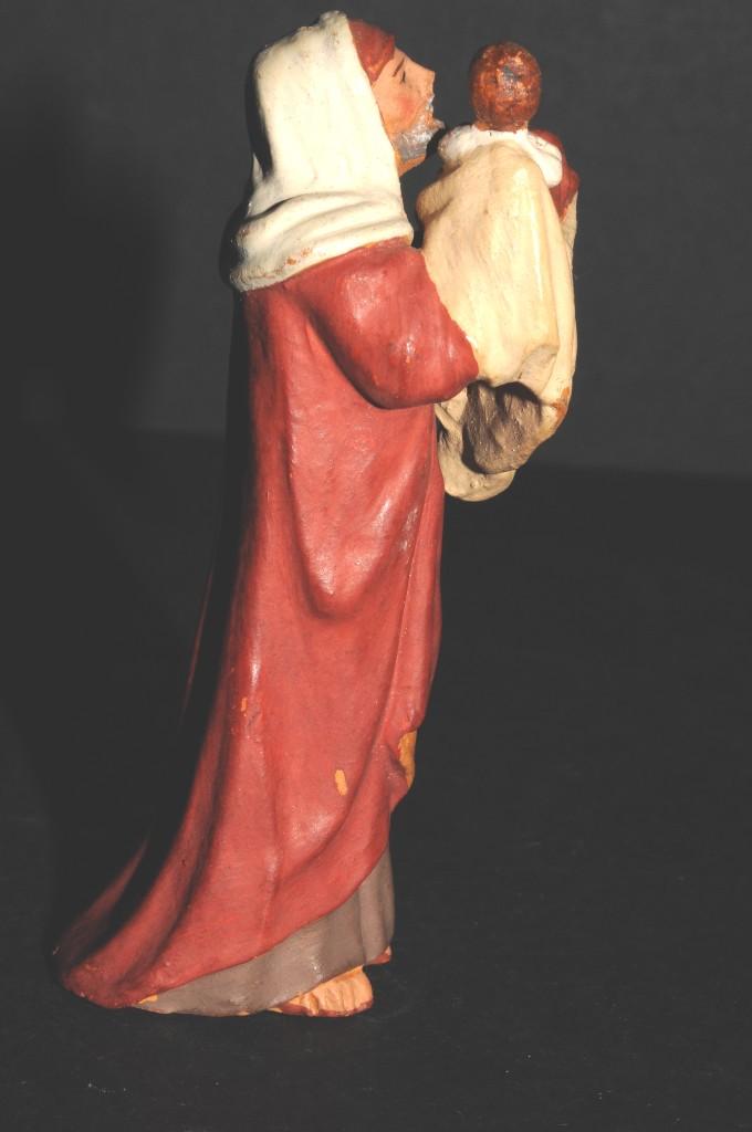 Figuras de Belén: FIGURA DE BELEN O PESSEBRE EN BARRO O TERRACOTA - Foto 3 - 107119171