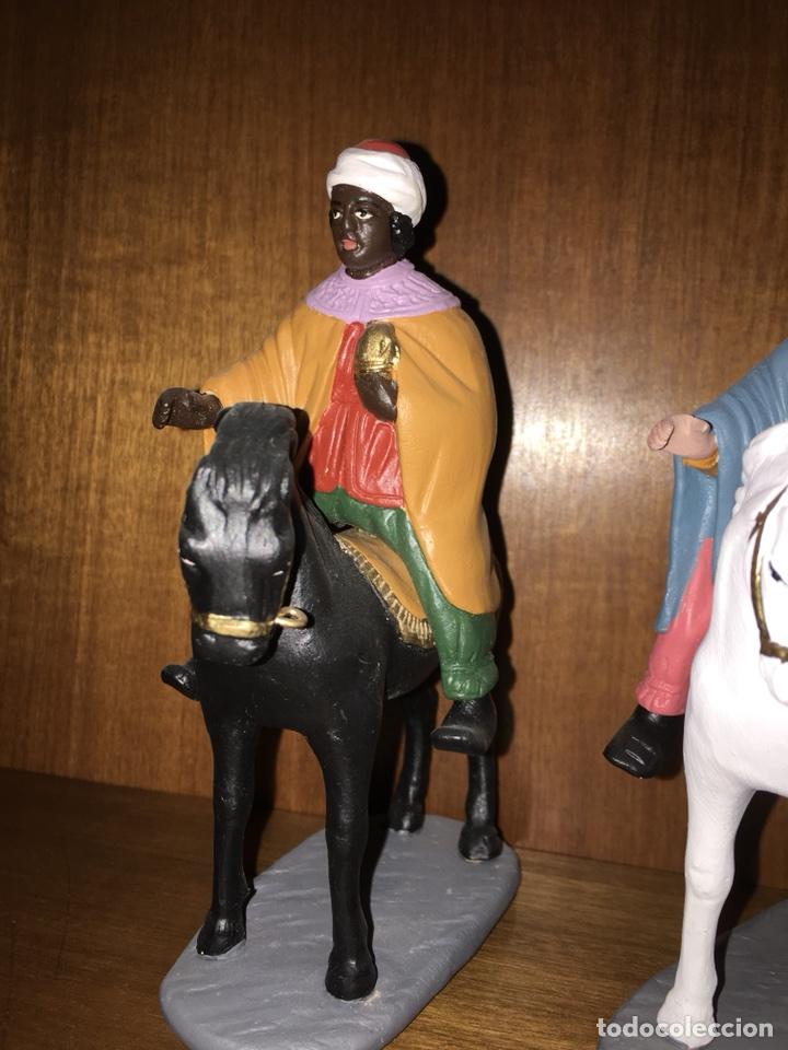 Figuras de Belén: Tres Reyes Magos antiguos - Foto 8 - 53270514