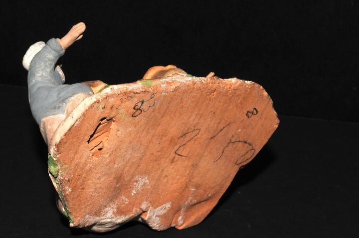 Figuras de Belén: FIGURA DE BELEN O PESSEBRE EN BARRO O TERRACOTA - Foto 5 - 107837227