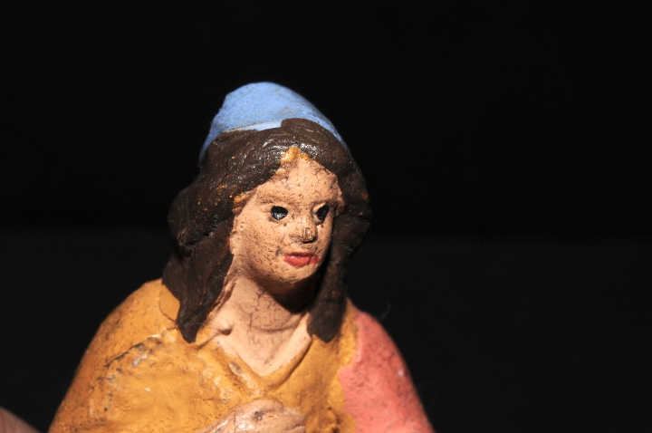Figuras de Belén: FIGURA DE BELEN O PESSEBRE EN BARRO O TERRACOTA - Foto 3 - 107837515